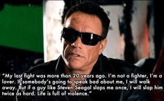 Best Things Jean-Claude Van Damme Has Ever Said :)