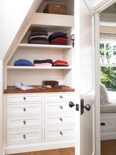 3 Industrious Simple Ideas: Girls Bedroom Remodel Built Ins small bedroom remodel tips.Basement Bedroom Remodel On A Budget. Closet Design, Bedroom Closet Design, Attic Bedroom Closets, Bunk Beds With Stairs, Home Decor, Small Bedroom, House Interior, Remodel Bedroom, Built In Dresser