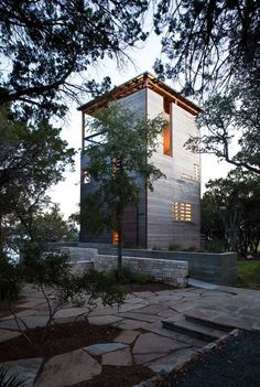 Good Tower House   Andersson Wise Architects   Texas, EEUU Museum Of Historical  Markmenship *architecture, Modern Design, Exterior Wood Siding*  .