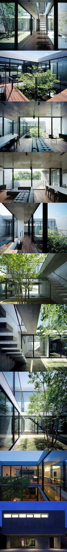 2013 Apollo - Still Courtyard House / Chiba Japan