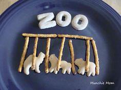 Alphabet Snacks: Z is for Zoo Preschool Cooking, Preschool Snacks, Preschool Letters, Preschool Ideas, Kindergarten Snacks, Daycare Ideas, Animal Snacks, Animal Crackers, Jungle Snacks