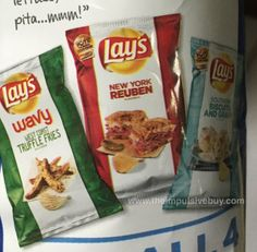 Lay's Do Us a Flavor Finalists (West Coast Truffle Fries, New York Reuben, and Southern Biscuits and Gravy).jpg