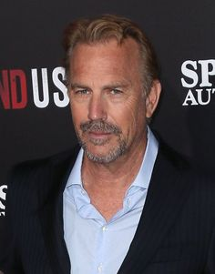 Pin for Later: 45 Famous, Sexy Silver Foxes Kevin Costner