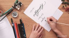 Cultivate your daily calligraphy practice with this inviting class from calligrapher and Paperfinger founder Bryn Chernoff. Through 10 days of warm-ups and exe...