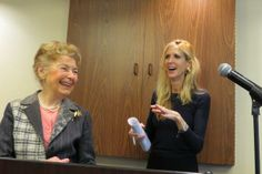 Phyllis Schlafly & Ann Coulter talking immigration reform at a National blogger Club briefing.
