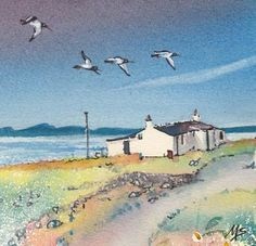 Miriam Smith Fly Over - Beauly Gallery