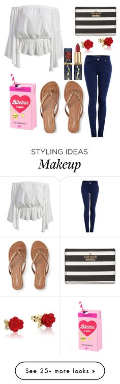 """""""Untitled #9993"""" by ohnadine on Polyvore featuring dVb Victoria Beckham, Kate Spade, Disney and Aéropostale"""