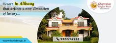 Beach vacation stay at Alibaug's Ghanvatkar Bungalow sets off for an ideal getaway for families, friends, and couples seeking relaxation and outdoor adventure.  For More Details, Call: 093222 47222 http://www.holidaygb.in/