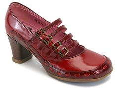 One of my favorite shoes ever. My husband bought them for me as a gift several years ago, I'm considering a second pair since they are looking worn. It would appear I am entering a red phase again, looking at my recent pins.