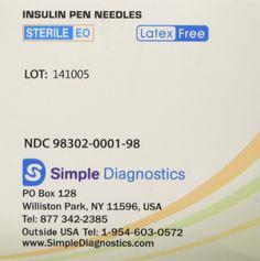 VM1000283739 - Clever Choice ComfortEZ Insulin Pen Needles 31G 8mm ...