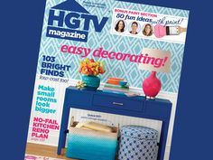 HGTV Magazine's turns 30 with the May 2015 issue! See what's inside #hgtvmagazine http://blog.hgtv.com/design/2015/04/06/celebrate-a-milestone-with-hgtv-magazines-may-issue/?soc=pinterest