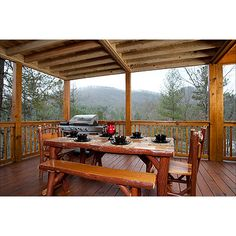 Meandering Moose - Escape to Blue Ridge Outdoor Tables, Outdoor Decor, Blue Ridge, Moose, Outdoor Furniture Sets, Places To Go, Pergola, Porch, Outdoor Structures