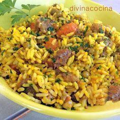 Para hacer este arroz rápido de carne y verduras puedes usar cualquier paquete de salteado de verduras, verduras para sofritos, menestra... a tu gusto.