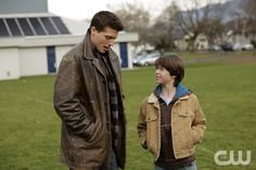 """""""After School Special"""" - (l-r) Brock Kelly as Young Dean and Colin Ford as Young Sam in SUPERNATURAL on The CW. Photo: Michael Courtney/The CW©2008 The CW Network, LLC. All Rights Reserved.pn"""