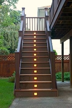 exterior lights | Outdoor Stair Lighting Fixture Design Ideas | Home Designs and ...