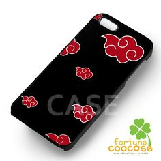 Akatsuki logo phone case anime naruto -54r for iPhone 6S case, iPhone 5s case, iPhone 6 case, iPhone 4S, Samsung S6 Edge
