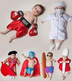 Hahaha... #ideias // Bebês + profissões