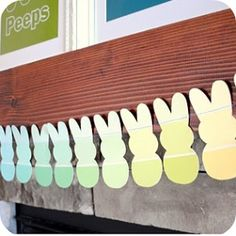 Peeps Paint Chip Banner,