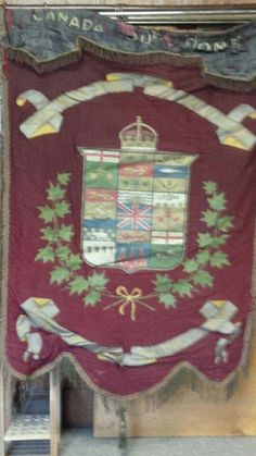 A old Orange Order Banner from Canada