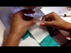 Perfect Piecing. Puntos perfectos en la union de pedacitos de tela. #patchworkandquilts - YouTube