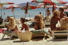 """timeless_glamour"" - summer 2015 mood in saint-tropez #slimaarons"