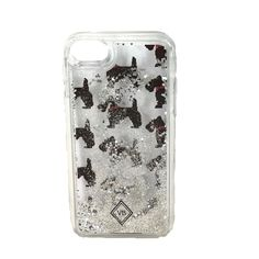 Vera Bradley iPhone 7 Glitter Flurry Case Who wants a plain phone? This case is the cure for boring tech. Vera Bradley, Iphone 7, Story People, Scottie Dogs, Glitter, Phone Cases, Scottish Terrier, Phone Case, Glow
