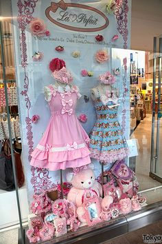 La Pafait Lolita Fashion I really love the simplicity of these dresses. We're really used to Lolita having all the ruffles, and frills, and tons of details, but these dresses are just these cute, simple, and it's different but it's good.