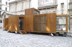 Vivienda modular de madera. Drop House, D3 Architects