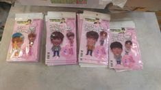 Wanna One Produce 101 Photo Standing Doll Key Holder Set KPOP WooJin SungWoon