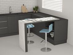 Tavolo quadrato in acciaio NOVA by emu Colori disponibili: ferro ...