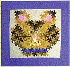 Here Kitty Kitty Twister Quilt Pattern by Raggedy Ruth Designs at Creative Quilt Kits