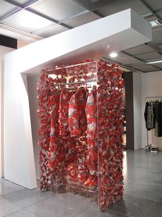 "DOVER STREET MARKET LONDON, ""The Floral Garden"", creative by Simone Rocha, pinned by Ton van der Veer"