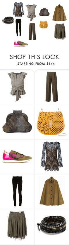 """Fashion coordination"" by emmamegan-5678 ❤ liked on Polyvore featuring Guild Prime, Jean-Paul Gaultier, Chanel, Chloé, Philippe Model, Erika Cavallini Semi-Couture, L'Agence, Rosetta Getty, Jay Ahr and Chan Luu"