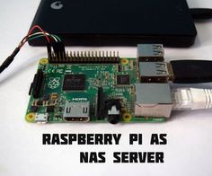 Raspberry Pi as a NAS (Network Attached Storage)
