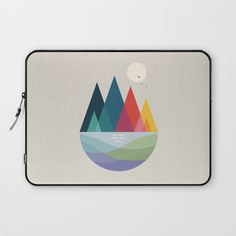Somewhere Laptop Sleeve by andywestface | Society6
