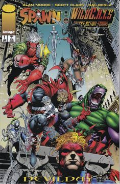 Spawn Wildcats 1A   January Issue  Image Comics  by ViewObscura