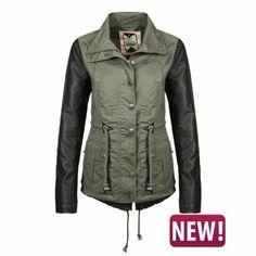Sublevel - Übergangsjacke im Parka-Style - günstig im Online Store FASHION5 kaufen