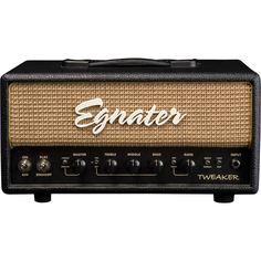 EgnaterTweaker 15W Tube Guitar Amp HeadBlack/Beige