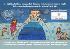 """W dniach 30 października - 30 listopada 2017 Stowarzyszenie """"Polskie Towarzystwo Mutyzmu Wybiórczego"""" organizuje akcję podsumowującą miesiąc świadomości mu"""