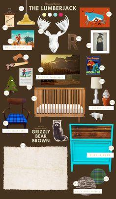lumberjack baby room ideas