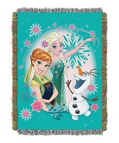 Frozen Fever Tapestry Woven Throw