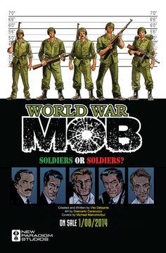 WORLD WAR MOB: More Robert Aldrich than Stan Lee