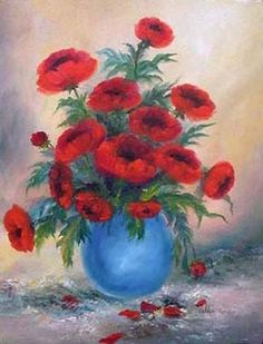 Valda Fitzpatrick Poppies absolutearts.com
