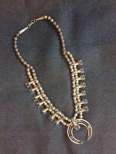 Sterling Silver Blue gem Squash Blossom | Jewelry & Watches, Ethnic, Regional & Tribal, Native American | eBay!