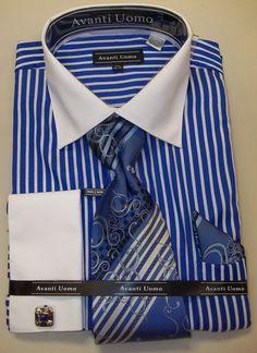 Love two tone dress shirts :)