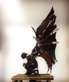 Scrap Metal Sculptures By Flavio Zarck