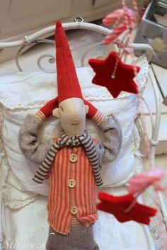 Casinha colorida: Enfeites de Natal nórdicos: amo muito tudo isso