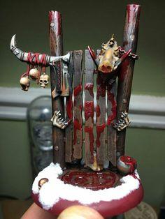 Butcher's Guild Goal Post