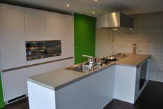 Beton Küche | Design Beispiel von Dade Design AG concrete works Beton | Küchenarbeitsflächen