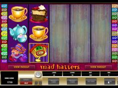 Gaming Club Mad Hatters Slot £100 FREE Online & Mobile Casino Game Bonuses
